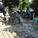 中原平和公園じゃぶじゃぶ池 川崎市の水遊びスポットで4月の水遊び