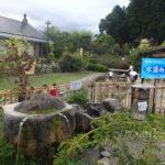 道の駅はくしゅうは南アルプスの天然水を無料で汲める場所
