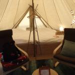 伊豆ウフフビレッジ グランピング宿泊記。充実のアメニティや備品類完備で快適キャンプ。