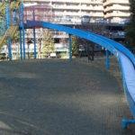 品川駅周辺こどもの遊び場 港南緑水公園で遊ぶ