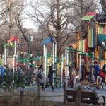 新宿でこどもと遊ぶ 新宿中央公園ちびっこ広場