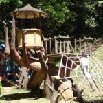 諏訪湖の大絶景!立石公園は遊具も充実