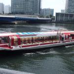 横浜シーバス(水上バス)を子連れ利用。いっきに観光気分が増しました!