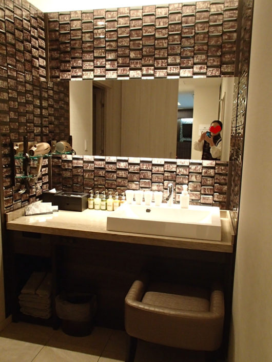 Nホテル ラグジュアリープールスイート 洗面所