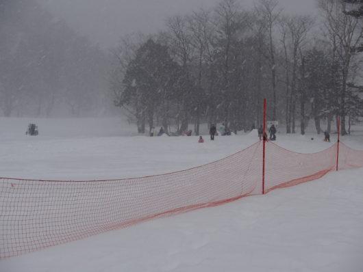 日光湯元温泉スキー場 チャイルド広場