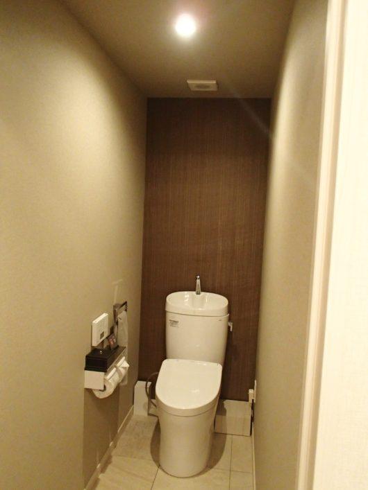 Nホテル ラグジュアリープールスイートのトイレ