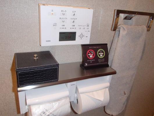 Nホテル トイレ 小箱の中はナプキンでした
