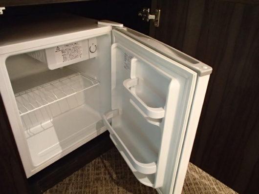 Nホテル 客室備品 冷蔵庫