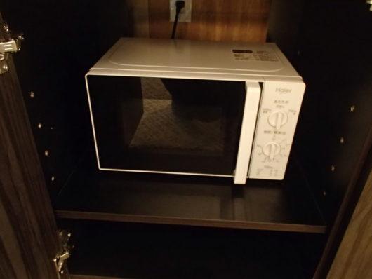 Nホテル 客室備品 電子レンジ