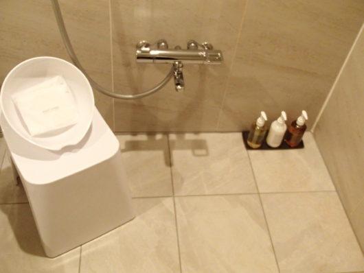 Nホテル お風呂 アメニティー類