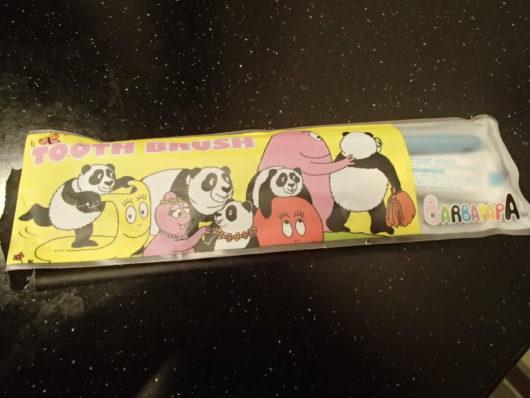 蓼科親湯温泉子ども用の歯ブラシセット