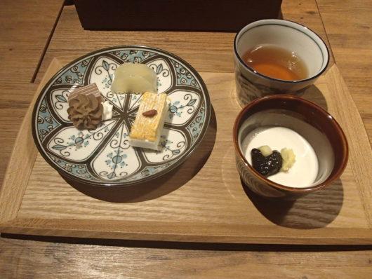 蓼科親湯温泉 夕食のデザート