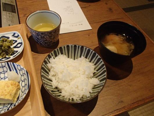 蓼科親湯温泉の朝食
