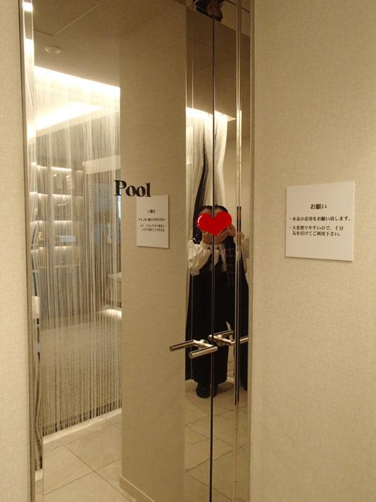 Nホテル ラグジュアリープールスイート プライベートプールへ繋がる扉