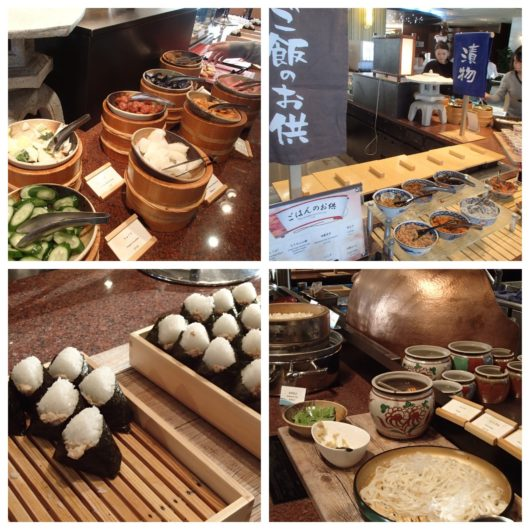 ホテルユニバーサルポート 朝食ブッフェ 和食