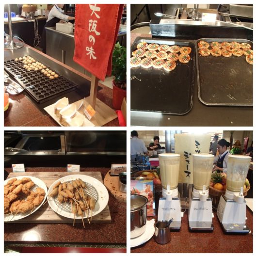 ホテルユニバーサルポート 朝食ブッフェ 大阪の味