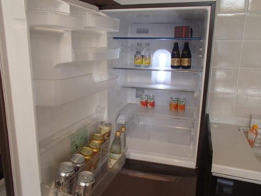 ネスタリゾート ロイヤルスイートC 冷蔵庫の中