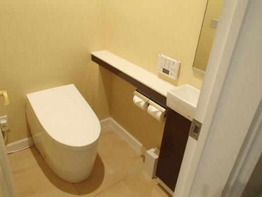ネスタリゾート ロイヤルスイートC ゲスト用寝室のトイレ
