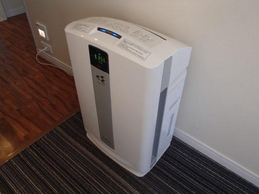 ホテルユニバーサルポート 空気清浄機