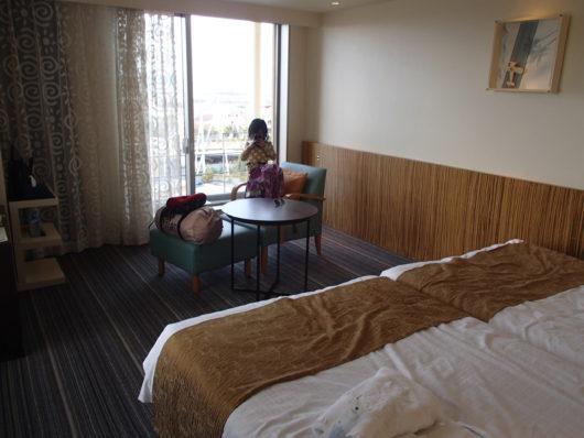 スーペリアコーナールーム ベッドルーム(別角度から)