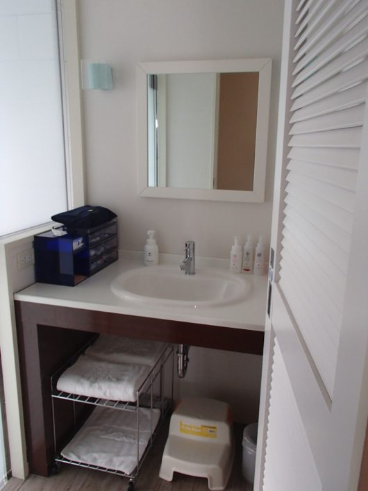 スーペリアコーナールーム 洗面所
