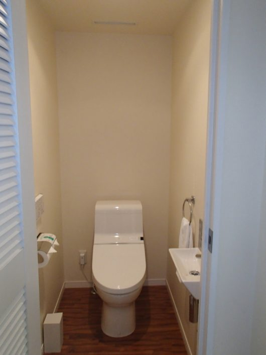 スーペリアコーナールーム トイレ