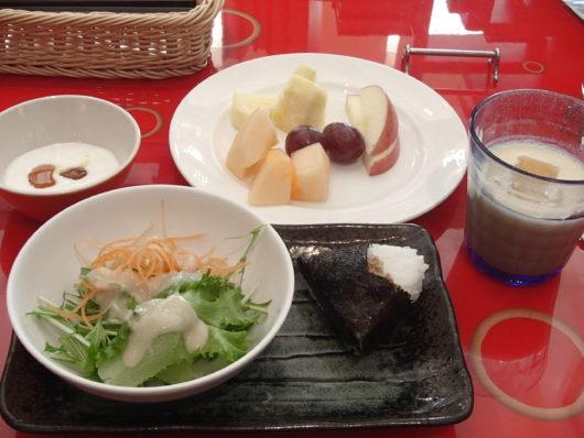 ホテルユニバーサルポート 朝食ブッフェ 私のお皿