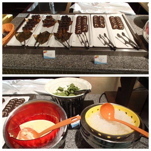 ホテルユニバーサルポート 朝食ブッフェ デザート