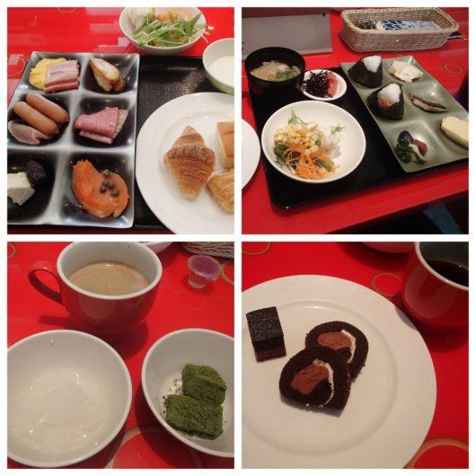 ホテルユニバーサルポート 朝食ブッフェ 2日目のお皿