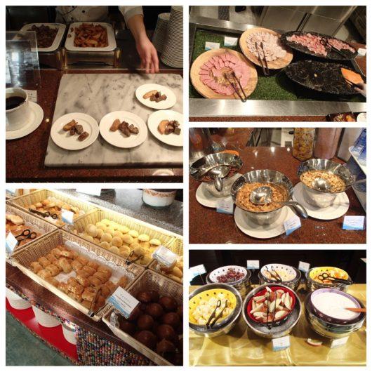 ホテルユニバーサルポート 朝食ブッフェ 洋食