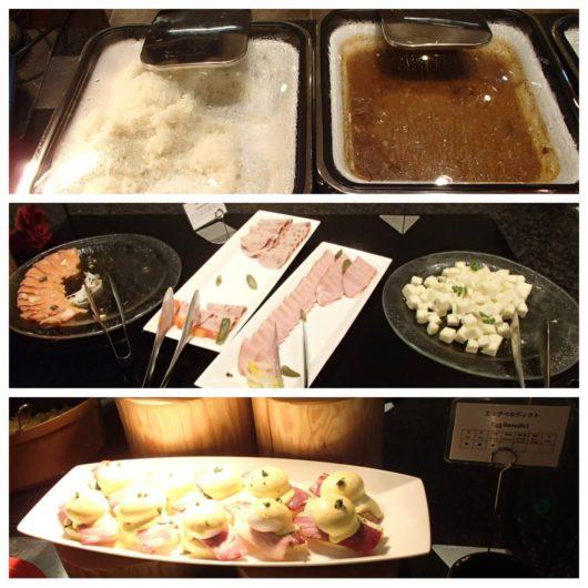 レゴランドホテル 朝食ビュッフェの料理