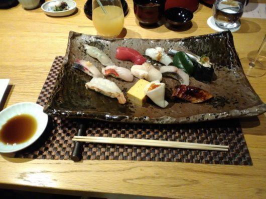 琵琶湖ホテル おおみ パパが食べたお寿司