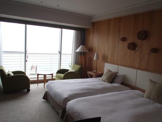 琵琶湖ホテル スーペリアルームの様子