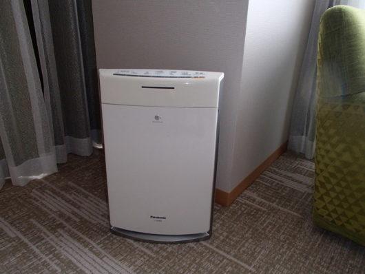 琵琶湖ホテル 客室備品 空気清浄機