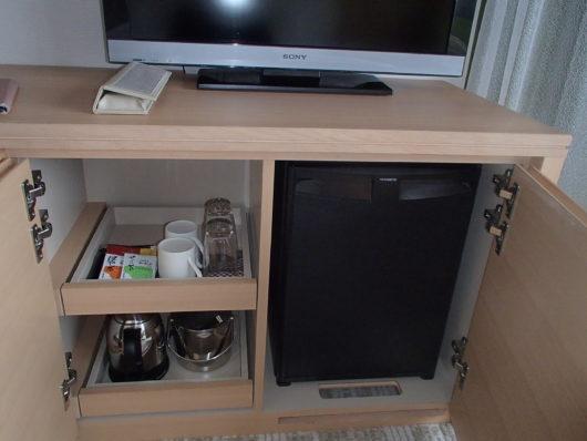 琵琶湖ホテル 客室の備品 飲み物関係