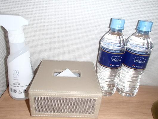 琵琶湖ホテル サービスのミネラルウォーター