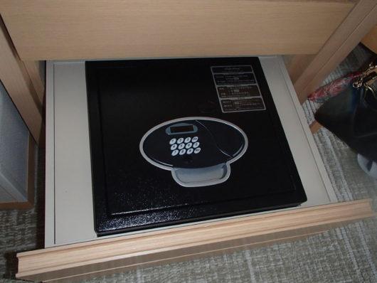 琵琶湖ホテル 客室の金庫