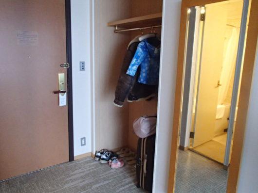 琵琶湖ホテル スーペリアルーム クロゼット