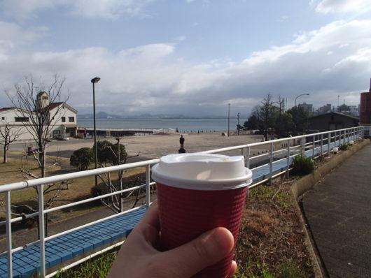 琵琶湖ホテル 朝食ブッフェ コーヒーはテイクアウトできる