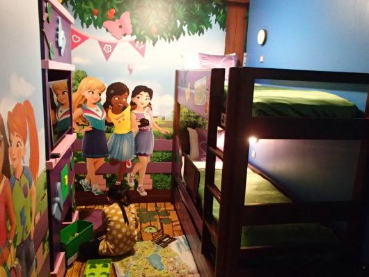 レゴランドホテル フレンズスイートルーム 子供部屋