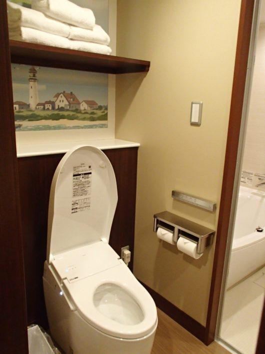 レゴランドホテル フレンズスイートルーム トイレ