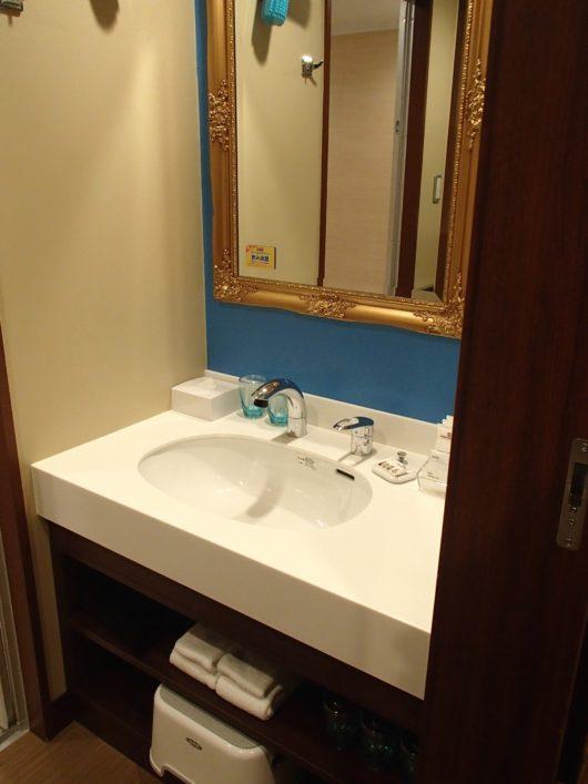 レゴランドホテル フレンズスイートルーム 洗面台