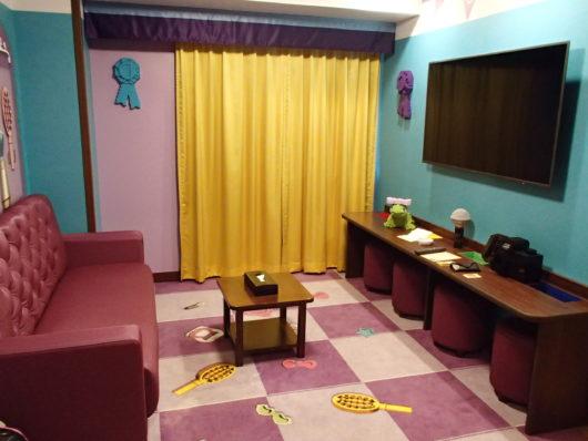 レゴランドホテル フレンズスイートルーム プレイルーム