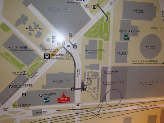 レゴランドホテル周辺地図