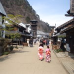 日光江戸村を姫様に変身して散歩