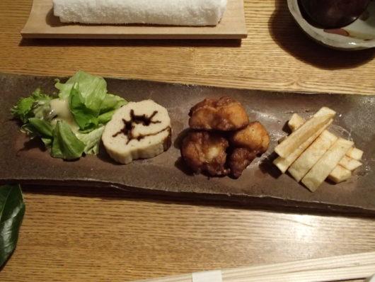三水館の夕食 お子様用の食事