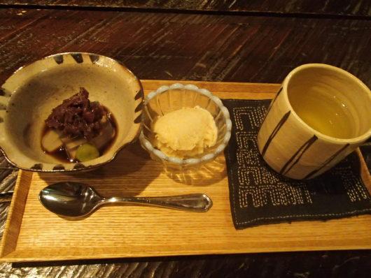 三水館 食後のデザート