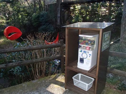 彫刻の森美術館 鯉の餌