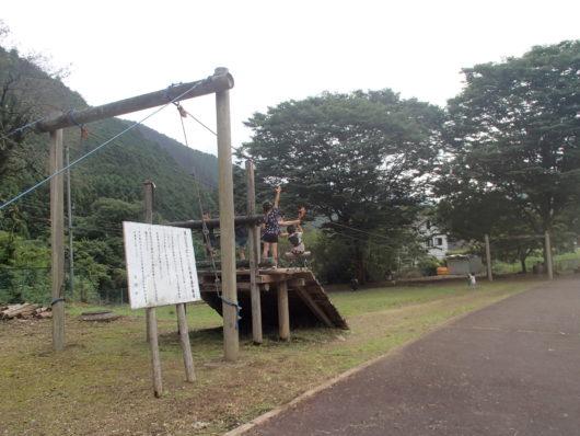 蓬山ログビレッジ ジップライン