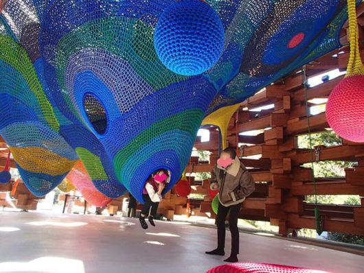 彫刻の森美術館 ネットの森